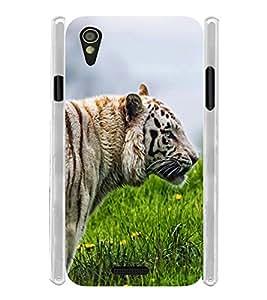 Crazy Lion Soft Silicon Rubberized Back Case Cover for Lava Iris X1 Mini