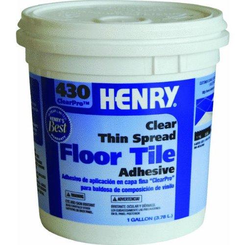 Henry, Ww Company Gal #430 Vinyl Adhesive 12098 Tile And Ceramic Adhesive