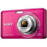 """Sony DSC-W310P Digitalkamera (12 Megapixel, 28mm Weitwinkelobjektiv mit 4fach optischem Zoom, 6,9 cm (2,7 Zoll) LC-Display) pinkvon """"Sony"""""""