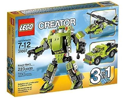 Lego Creator - 31007 - Jeu de Construction - Le Super Robot