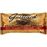 Guittard, Semi Sweet Chocolate Baking Chips, 12oz Bag (Pack of 4)