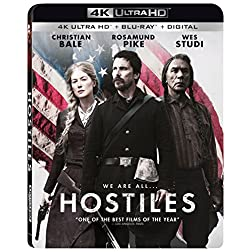 Hostiles [4K Ultra HD + Blu-ray]