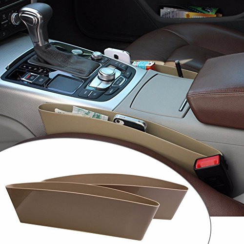 Celix Catch Caddy Car Seat Pocket & Organizer for Hyundai 4S Fluidic Verna – Beige