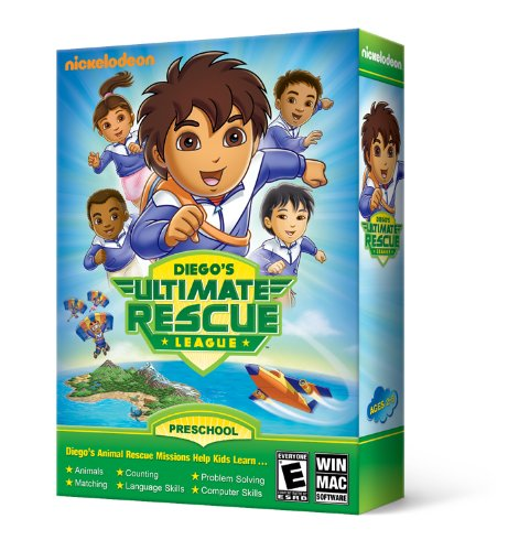 Nova Development US Go Diego Go! Diego's Ultimate Rescue League - 1
