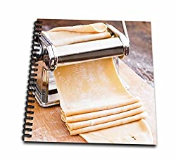 3dRose db_208065_2 Pasta Machine with Dough, South Africa. Memory Book, 12 by 12