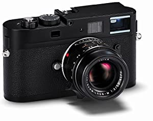 Leica 10760 M Monochrom 18MP Compact System Camera with 2.5-Inch TFT LCD- Body Only (Black)