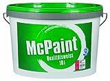 McPaint Wandfarbe Qualitätsweiß matt 10 Liter