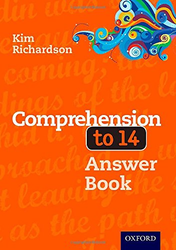 Comprehension to 14 Answer Book Third Edition