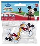 Wilton 2113-7071 Mickey Mouse Clubhouse Cupcake/Cake Fun Pix, Set of 24