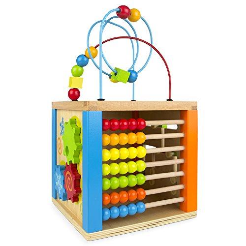 ColorBaby-Centro-de-actividades-madera-y-baco-42745