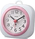 DAILY(リズム時計) 小型防滴型時計 電子音アラーム付 アクアパークミニDN ピンク色 4SE547DN13