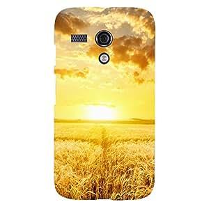 Zeerow Hard Case Mobile Cover for Moto G