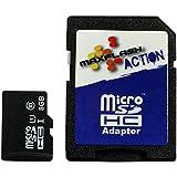 8GB Memory Card for Vodafone Smart 4 mini (micro SD, SD adapter)