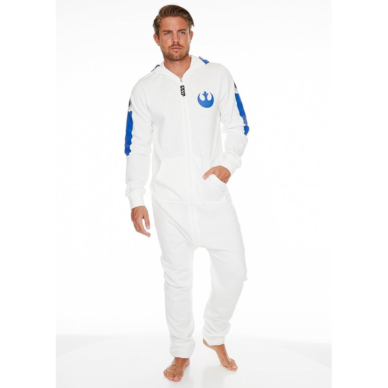 star wars onesie r2d2 combinaison adulte homme zip sci fi robot pyjamas onesy ebay. Black Bedroom Furniture Sets. Home Design Ideas