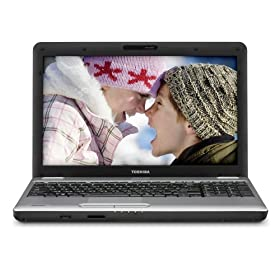 Toshiba Satellite L505-S5993 TruBrite 15.6-Inch Grey/Black Laptop - 2 Hours 25 Minutes of Battery Life (Windows 7 Home Premium)