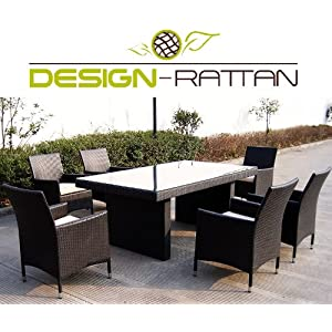 design rattan milano polyrattan gartenm bel lounge braun bestseller gartenmobel. Black Bedroom Furniture Sets. Home Design Ideas