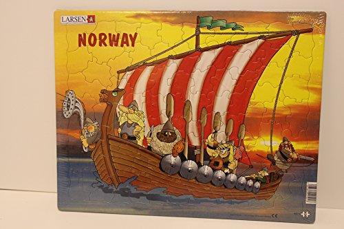 Larsen Viking Ships Puzzle - 1