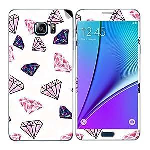 Theskinmantra Diamonds Samsung Galaxy Note 5 mobile skin