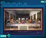 51tI38RPQ1L. SL160  Buffalo Games 2000 Piece The Last Supper