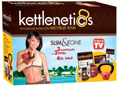 Buy Gaiam Kettlenetics Slim and Tone Kit From Amazon