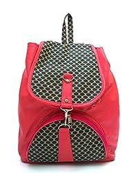 Vintage Stylish Ladies Handbag Backpac Pink(bag 166)