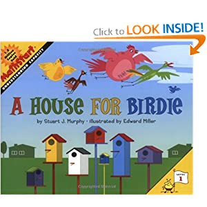 A House for Birdie (MathStart 1) by Stuart J. Murphy and Edward Miller