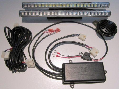 Golf Cart Light Kit Liteseasy Deluxe Wireless Led & Signal Kit 2 Street