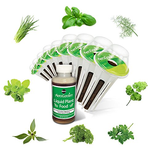 Miracle-Gro AeroGarden Gourmet Herb Seed Pod Kit (9-Pods)
