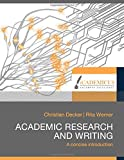 img - for Academic Research and Writing book / textbook / text book