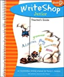 Writeshop Junior, Book D, Teacher