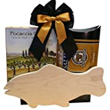 Catch of The Day All Natural Smoked Salmon Gift Set with Cutting Board