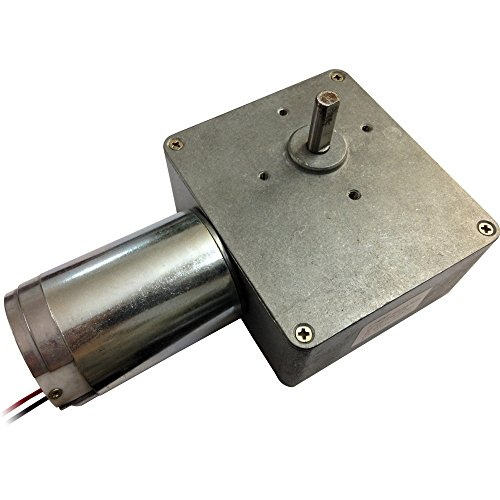 24V 10 Rpm High-Torque Drive Pmdc Right Angle Geared Motor With Gearbox Reducer