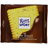Ritter Sport Butter Biscuit 100 g (Pack of 8)