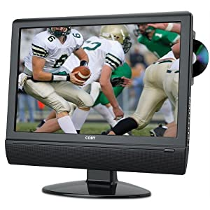 Coby TFDVD2274 22-Inch 720p Widescreen LCD HDTV/Monitor with DVD Player and HDMI Input (Black)
