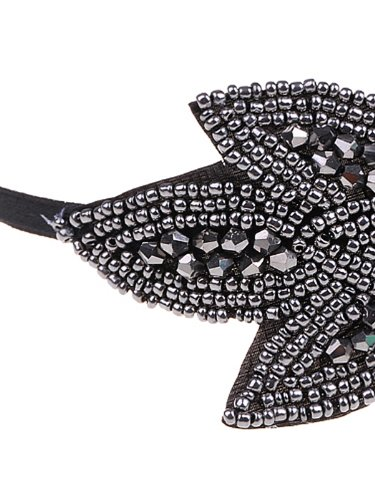 Alilang-Womens-Black-Gunmetal-Grey-Beaded-Floral-Leaf-Flapper-Headband-Vintage-1920s-Great-Gatsby-Style-Fashion-Black