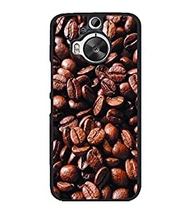 Coffee Beans 2D Hard Polycarbonate Designer Back Case Cover for HTC One M9 Plus :: HTC One M9+ :: HTC One M9+ Supreme Camera