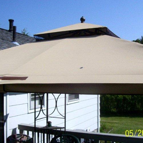 2010 Nantucket 10 x 10 Gazebo Replacement Canopy - Gazebos ...