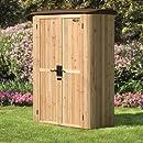 Suncast Wood/Resin Vertical Shed