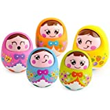 WonderKart Durable Roly Poly Baby Tumbler Doll - Color May Very