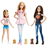 Barbie and Her Sisters The Great Puppy Adventure Doll Set of 3