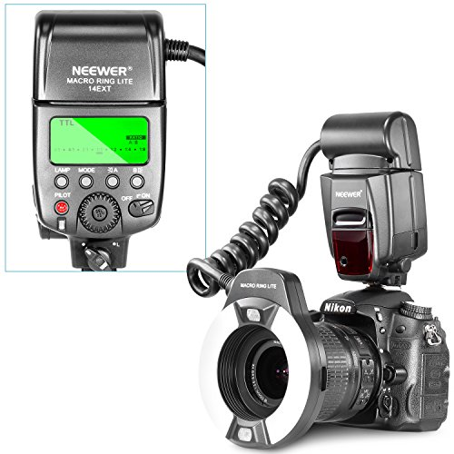 Neewer-Macro-TTL-Ring-Flash-Light-with-AF-Assist-Lamp-for-Nikon-I-TTL-Cameras-such-as-D7000-D5000-D5100-D3200D3100-D3000-D3-series-D800D700-D2-series-D300-series-D200-D90-D80s-D70-series-D60-D50-D40-s