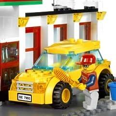 レゴ シティ ガソリンスタンド 7993