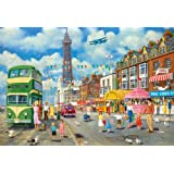 Gibsons Blackpool Promenade Jigsaw Puzzle (500-Pieces)