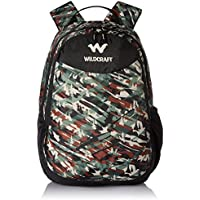 Wildcraft 26 Liters Multi-Colour Casual Backpack (Camo 1 Green)