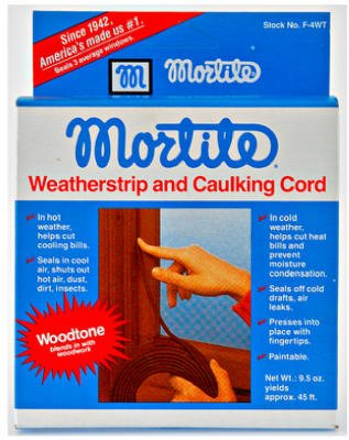 Mortite 45' Brown Rope Caulk