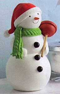 Hallmark Jolly in the John singing and talking snowman
