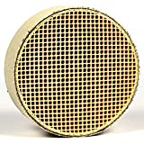 "Ceramic Honeycomb (CC-001) Catalytic Combustor (6"" Diameter By 2"" Wide wrapped in a stainless steel ""can"") for Consolidated Dutchwest Wood Stoves (Models 224, 2460, 2461, 2462, Large 264, Extra Large 288, Andirondack, Federal / Airtight, Rocky Mountain, Seneca, 1990+ Sequoia, X-large). Before ordering consider the Steelcat TM (CS-001) upgrade - A worthwhile extra expenditure for better performance. Made in the USA by Condar, ""The Combustor Experts"". GASKET INCLUDED."