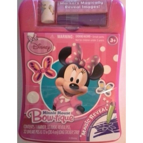 Minnie Mouse Bow-tique Magic Reveal Pad by Disney