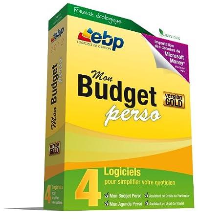 EBP Mon Budget Perso GOLD 2012