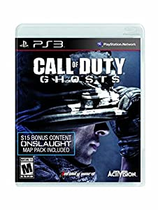 Call of Duty: Ghosts (Onslaught DLC Included) - PlayStation 3 by Activision Inc.